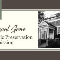 Preservation Commission flyer